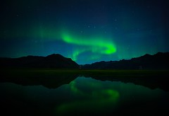 The Snake (twoeyes) Tags: road sky cloud iceland visuals twoeyes northernlights auroraborealis ringroad hvannadalshnjkur