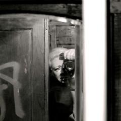 The last trip (carlos_ar2000) Tags: reflection me argentina subway mirror buenosaires photographer dof metro yo reflected espejo reflejo subte subterraneo fotografo i subtelineaa