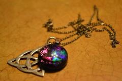Pendant (Laura_Christine) Tags: colorful wicca pendant triquetra necklance