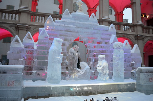 The Ice Nativity Scene [Graz - 8 December 2012]
