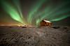 Norðurljós (Jón Óskar.) Tags: snow night aurora hafnarfjörður northernlights snjór hús norðurljós auroraborialis jónóskar ☆thepowerofnow☆