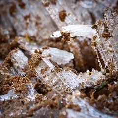 Crystalice (ByDaveHales) Tags: macro ice crystal earth peakdistrict 70300 winterfrost nikond90