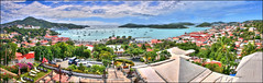 Grand Harbor 180 Degree Vista Panorama (Simon__X) Tags: ocean travel cruise blue light sea vacation sky mountain holiday hot tree love tourism beach nature water colors beauty sunshine clouds marina swimming palms landscape island bay coast harbor boat seaside cool interesting sand rocks flickr paradise surf heart coconut harbour wave stjohn romance sunbath explore cruiseship tropical tropicalisland mostinteresting sail tropic caribbean sailboats carib beachsunset beautifulbeach usvirginislands usvi beachscene trunkbay tropicalparadise stjohnusvi stthomasusvi tropicalbeach beautifulisland beachsunrise beautifulocean usvirginisland tropicalsea tropicalocean mostinterestingflickr heartshapedbeach