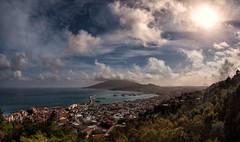 zakinthos (dtsortanidis) Tags: travel sea sky clouds canon island photography day cloudy fisheye greece vacations dmitris zakinthos dimitrios ionean 815mm tsortanidis dtsortanidis