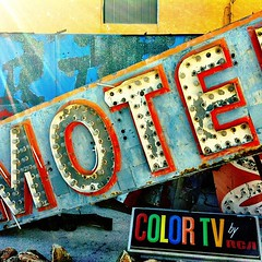 Motel with Color TV