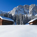 Dolomites Winter Wonderland