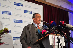 Karel Schwarzenberg at the Presidential Elections (path.runner) Tags: karel schwarzenberg karelschwarzenberg czech president presidential elections presidentialelections prague politics princeschwarzenberg pressconference lucerna lucernapalace milos miloszeman zeman czechrepublic volby prezident esk prezidentskvolby kne milo milozeman