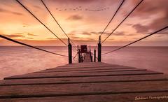 Evasion (Sebdows.Photography) Tags: sunset sea sunlight nature yellow landscape la soleil coucher shore paysage rochelle sebdows sebdowsphotography