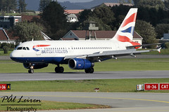 British Airways - G-EUOD - 2016.08.10 - ENZV/SVG (Pål Leiren) Tags: stavanger sola norway svg enzv flyplass airport planes plane planespotting aviation aircraft runway rw airplane canon7d 2016 airliner jet jetliner august august2016 british airways geuod britishairways airbus a319131a319