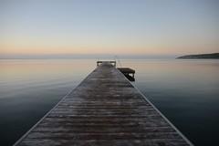 Summer and the sea (Fraila) Tags: lemvig bridge sea ocean nature horrisont niikon d600 nikkor60mm28 denmark jut jutland jylland vesterhavet limforden