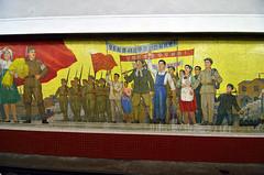 Pyongyang Metro (Gedsman) Tags: northkorea north korea pyongyang kim communism communist juche history tradition