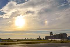 Sundog (thefisch1) Tags: sundog kansas cargill elevator grain sky cloud sun cirro stratus topeka hightway 75 flint hills nikon nikkor