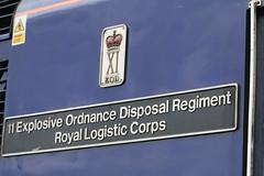 43087 11 Explosive Ordnance Disposal Regiment Royal Logistic Corps (uktrainpics) Tags: 43087 11 explosive ordnance disposal regiment royal logistic corps class 43 hst teignmouth