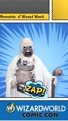 wizard world comic con. 2016 (timp37) Tags: me wizard world comic con august 2016 illinois chicago rosemont cosplay conlife cosplayer tusken raider zap sand people star wars