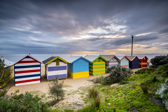 Brighton Beach. (Leica001) Tags: melbourne beach sea long exposure nd10 lee big stopper filters nd sunset