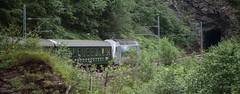 Wait For Me! (Nigel Jones LRPS) Tags: railway flam flamsbana norway engine train hill gradient steep