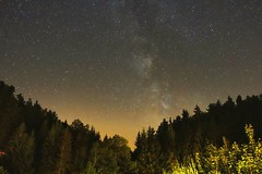 Milchstrasse (Th.He) Tags: schsischeschweiz milchstrasse milkyway sterne stars langzeitbelichtung schrammsteine schrammsteinbaude