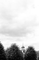 Clock Tower, Dunham Massey (MCorrigan1983) Tags: jch400 streetpan 2016 bw dunhammassey jchstreepan400 nikkor50mmf14ais nikonfe2