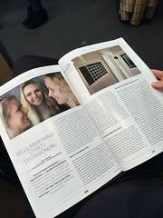 VEGG - viðtal í MAN magasín (liljabjork) Tags: man interview vegg veggdesign wwwveggis wwwmanis sigrún lilja kristín kristin magazine