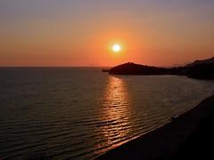 Tramonto sul mare di Odisseo e di Enea (giorgiorodano46) Tags: settembre2016 september 2016 giorgiorodano nikon martirreno gaeta sperlonga circeo sunset goldenhour