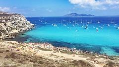 Favignana Agosto 2016 (Luca W Alberti) Tags: nature seaside yatch boat blue sea calaazzurra 2016 favignana sicily