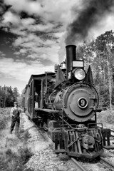 Train re-assembled (Rob Mesite) Tags: narrowgaugemaine2footerstrain wwf