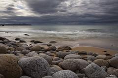 Galicia (PilaReina) Tags: landscape sky nature sea seascape storm cantbrico galicia espaa spain rocks mar marina rocaspaisaje cielo naturaleza tormenta