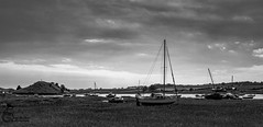 Alnmouth 18 (View From The Chair Photography) Tags: monochrome mono blkwhite landsape yacht boat