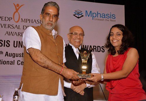 NCPEDP-Mphasis Universal Design Award 2016