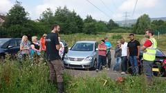 Torfaen. Friends of Henllys LNR Barclays ev 3 18/08/16 (Keep Wales Tidy) Tags: himalayan balsam bags help sucb inns community torfaen henllys lnr