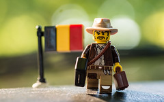 Bye Bye Belgium (Reiterlied) Tags: 105mm belgium d5200 dslr flag lego legography lens macro minifig minifigure nikon photography prime sigfig sigma stuckinplastic toy
