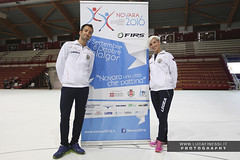 Campionati Mondiali Novara 2016 Leoni-Spigai (Luca Finessi - Studio27) Tags: novara 2016 world championships roller artistic skating pattini pattinaggio artistico novara 2016 leoni spigai