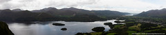 View form near Walla Crag (saleterrier) Tags: keswick derwentwater cumbria lakedistrict england landscape panorama wallacrag water lake hill