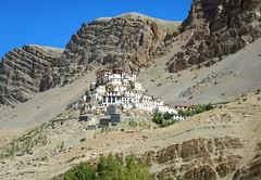 Kye Gompa .... {EXPLORED} (rajnishjaiswal) Tags: monastery tibetan buddhist spitivalley spiti religious hills mountain desertmountain kaza