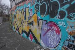 Yonk (NJphotograffer) Tags: graffiti graff new jersey nj bumtrail riverwalk yonk pdv crew