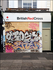 Drost / Enta (Alex Ellison) Tags: westlondon urban graffiti graff boobs nottinghillcarnival2016 drost enta
