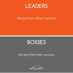 Boss vs Leader: 12 Delineating Characteristics of a Leader (kris.fannin) Tags: infographics leadership team teamleadership business bossvsleader leadershipdevelopment teamleader
