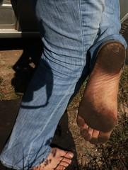 dirty city feet 330 (dirtyfeet6811) Tags: feet soles barefroot dirtyfeet dirtysoles blacksoles cityfeet