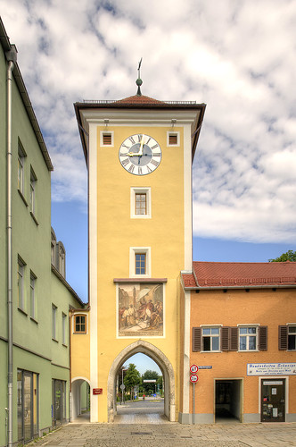 Mittertor, Kelheim, Bavaria