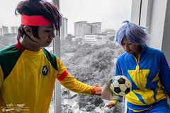 Inazuma Eleven x #AMG2016: 014 (FAT8893) Tags: amg2016 animangaki animangaki2016 cosplay inazumaeleven level5 malaysia soccer fubuki shirou shawn froste mamoru endou mark evans