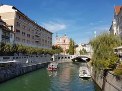 Ljubljana, Slovenia (samo_wi) Tags: ljubljanica tromostovje cerkevmarijinegaoznanjenja