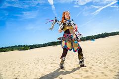 2 (Weiman) Tags: horizon zero dawn cosplay aloy guerilla games arrow bow outdoor