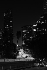 () Tags: los angeles xt2 fujifilm fuji la downtown dtla bw black white city night street photography