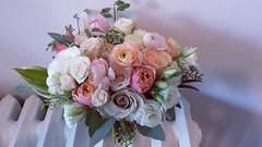 Bridal bouquet 01 (Flower 597) Tags: weddingflowers weddingflorist centerpiece weddingbouquet flower597 bridalbouquet weddingceremony floralcrown ceremonyarch boutonniere corsage torontoweddingflorist