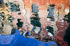 Venice Dream (Claudio Cantonetti) Tags: channel city cityscape italy lagoon scene street travel venice water reflection light place building architecture art claudio cantonetti nikon d7000 colors blue red orange windows dream