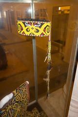 Aboriginal Iban bead hat (quinet) Tags: 2015 aborigne borneo iban kuching kuchingtextilemuseum malaysia perlen sarawak ureinwohner aboriginal beads native perles