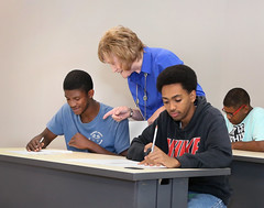 Adult Education Bibb Center 8L4B5761 (Lewis and Clark Community College) Tags: maryknocke instructor adulteducation students scottbibbcenter