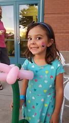 Jovie with face paint (Aggiewelshes) Tags: phone s6 september 2016 jovie facepaint edithbowen