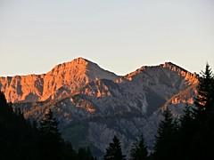 Alpenglhen (PyriteSoulfox) Tags: lechweg austria sterreich alpen alps mountains tirol alpenglhen alpenglow sunrise sonnenaufgang