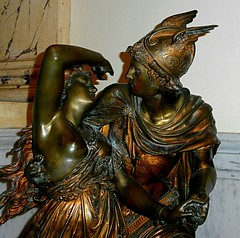 Andromeda  and Perseus, Bronze by Louis Gregroire   --   IMG_20160925_162633 (mshnaya) Tags: new england bedford city cityscape public library sculpture carving art bronze ivory wood flickr picture photo photography candid leicac leica point shoot camera